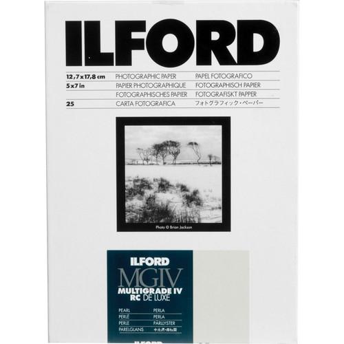 ILFORD Multigrade V RC Deluxe 5X7 Pearl - 25 Sheets