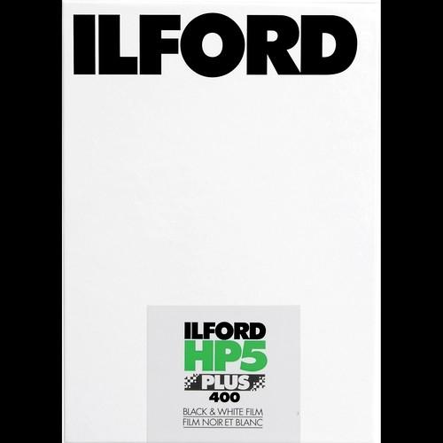 "ILFORD HP5 Plus 400asa 4""x5"" 25 sheets"