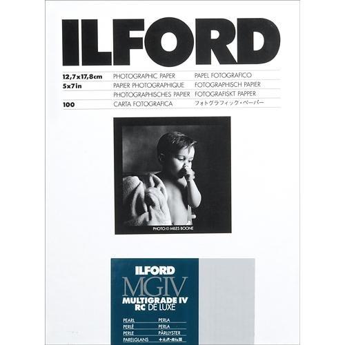 ILFORD Multigrade IV RC Deluxe 5X7/100 Pearl