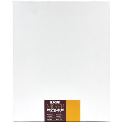 ILFORD Multigrade FB Warmtone 8X10/250 Glossy Double Weight