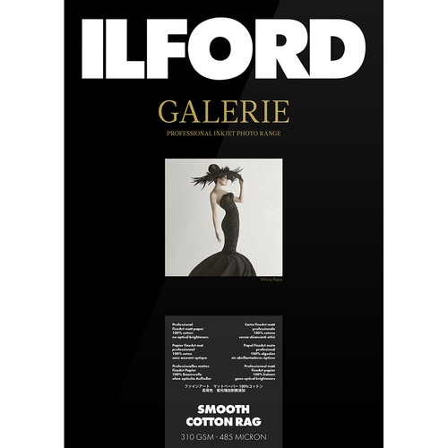 """ILFORD Gallerie Prestige 5* Paper Smooth Luster Duo 13x19"""" #CLEARANCE"""