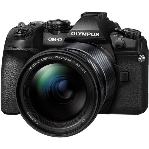 OLYMPUS OM-D E-M1 II Body with 12-200mm Lens Kit (Black)