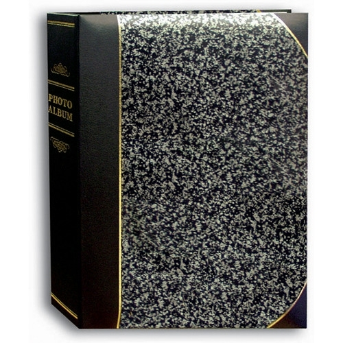 "PIONEER TBT57 5""x7"" Ledger Album   Gray with Black trim"