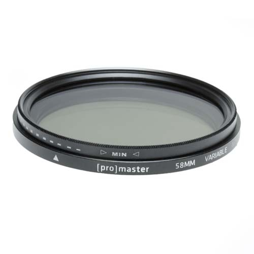 ProMaster 58mm Variable ND Filter