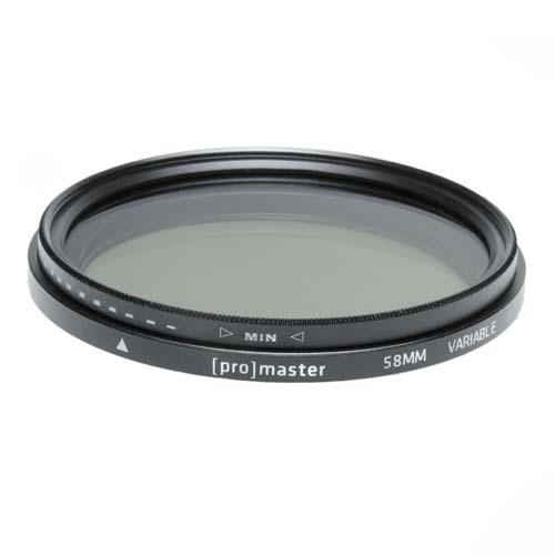 ProMaster 52mm Variable ND Filter