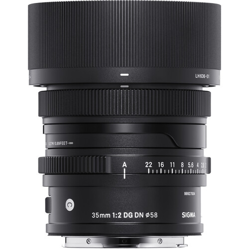 SIGMA 35mm F2.0 Contemporary DG DN for L Mount - I Series