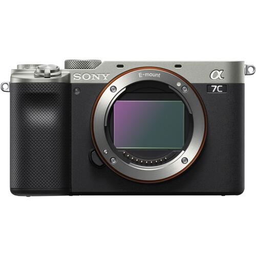 SONY A7C Mirrorless Digital Camera Body (Silver)