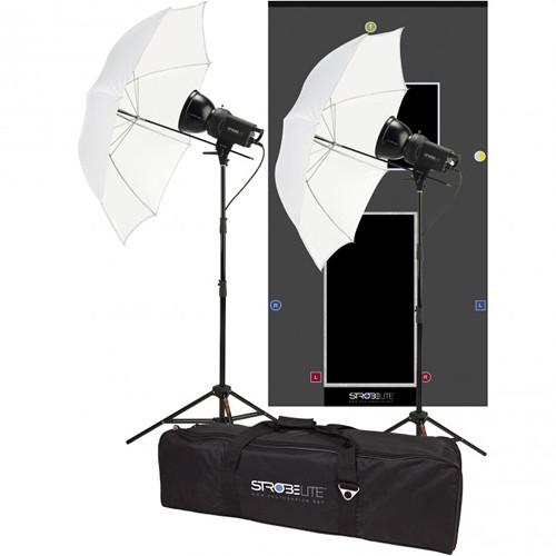 PHOTO BASICS Strobelite 3-Light Kit #CLEARANCE