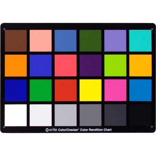 XRITE ColorChecker Classic Chart