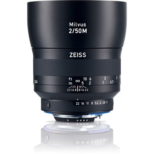 ZEISS Milvus 50mm f2 ZF.2 Lens for Nikon
