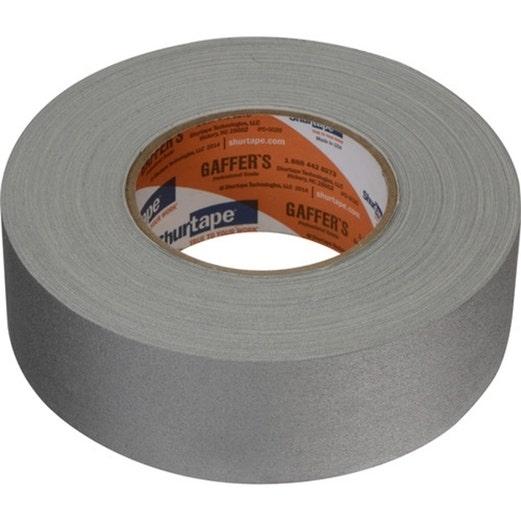 "PERMACEL Grey 2""x55 yds. Gaffer Tape"