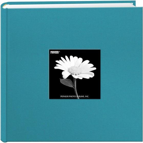 "PIONEER Cloth Frame 4""x6"" 2up Turquoise Blue DA200CBFT Album"