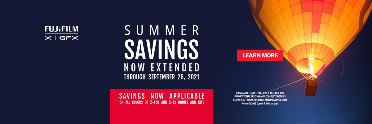Fujifilm Instant Savings Summer 2021